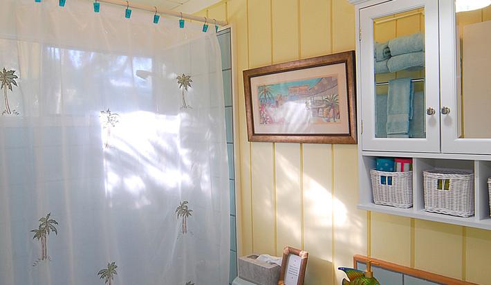 Second bathroom off hallway