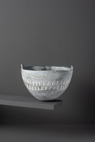 Sculpted Rim Bowl