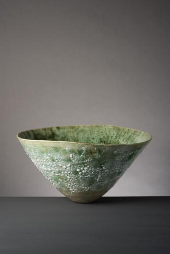 Copper Green Lichen Bowl