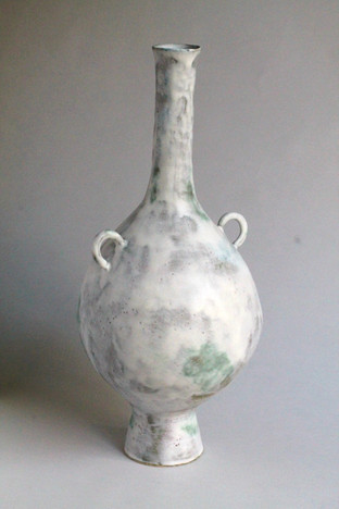 Tall Necked Vessel with Lugs