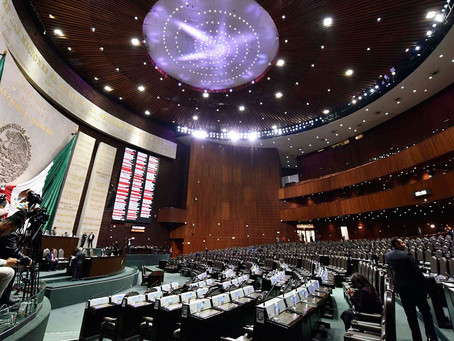 La Cámara de Diputados envió para sus efectos constitucionales al Ejecutivo Federal