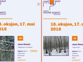 Kaks tööd Tartu noore kunsti oksjonil