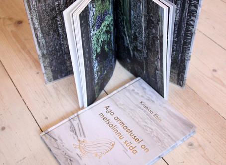 """Maalid Kristiina Ehini luuleraamatule """"Aga armastusel on metsalinnu süda"""""""