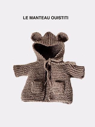 Patron/ pattern manteau OUISTITI