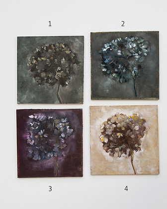 Hydrangea/ oil painting