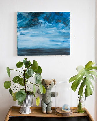 Nuage #13/ oil painting 38X46cm