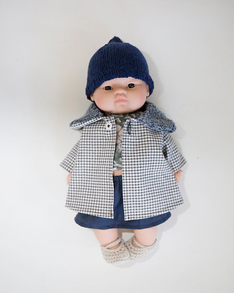 coat for doll Alphonse