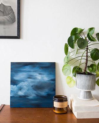 Nuage #09/ oil painting 30X30cm