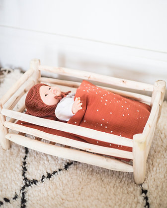 lit bois/ wooden bed