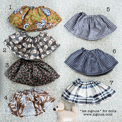 SKIRTS FOR DOLLS