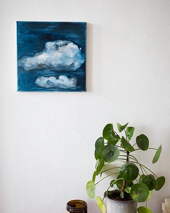 Nuage #08/ oil painting 30X30cm