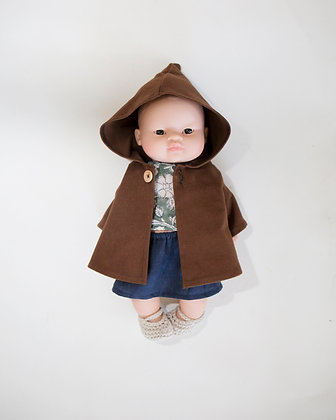 coat for doll Achille