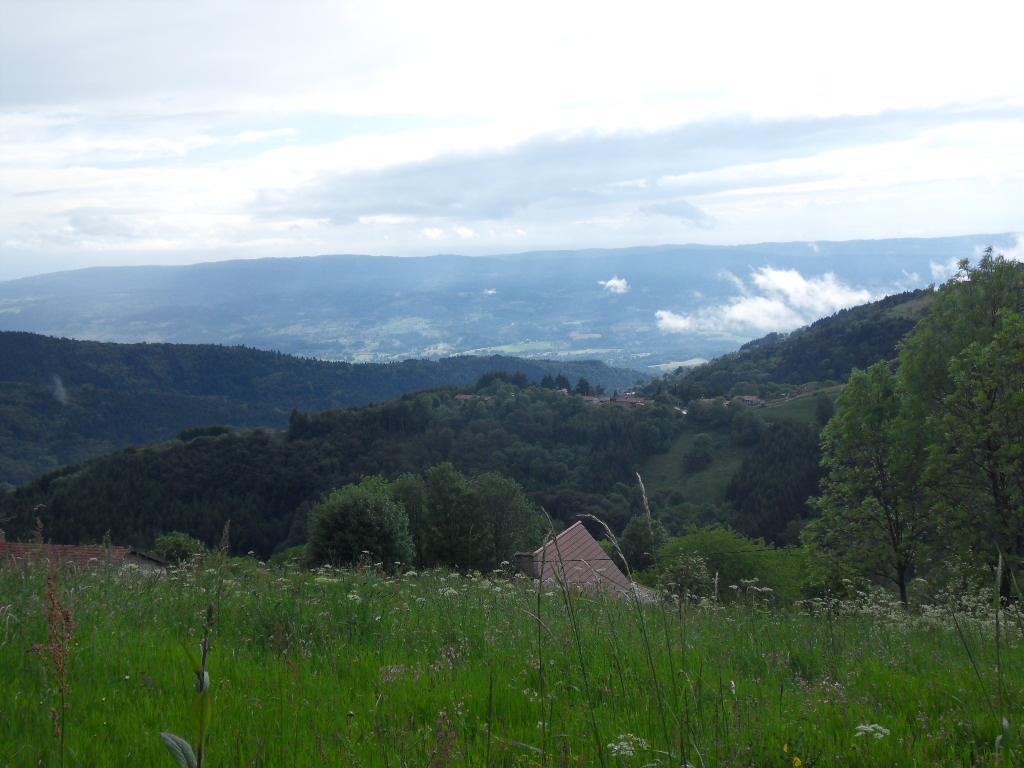 vue au dessus du hameau