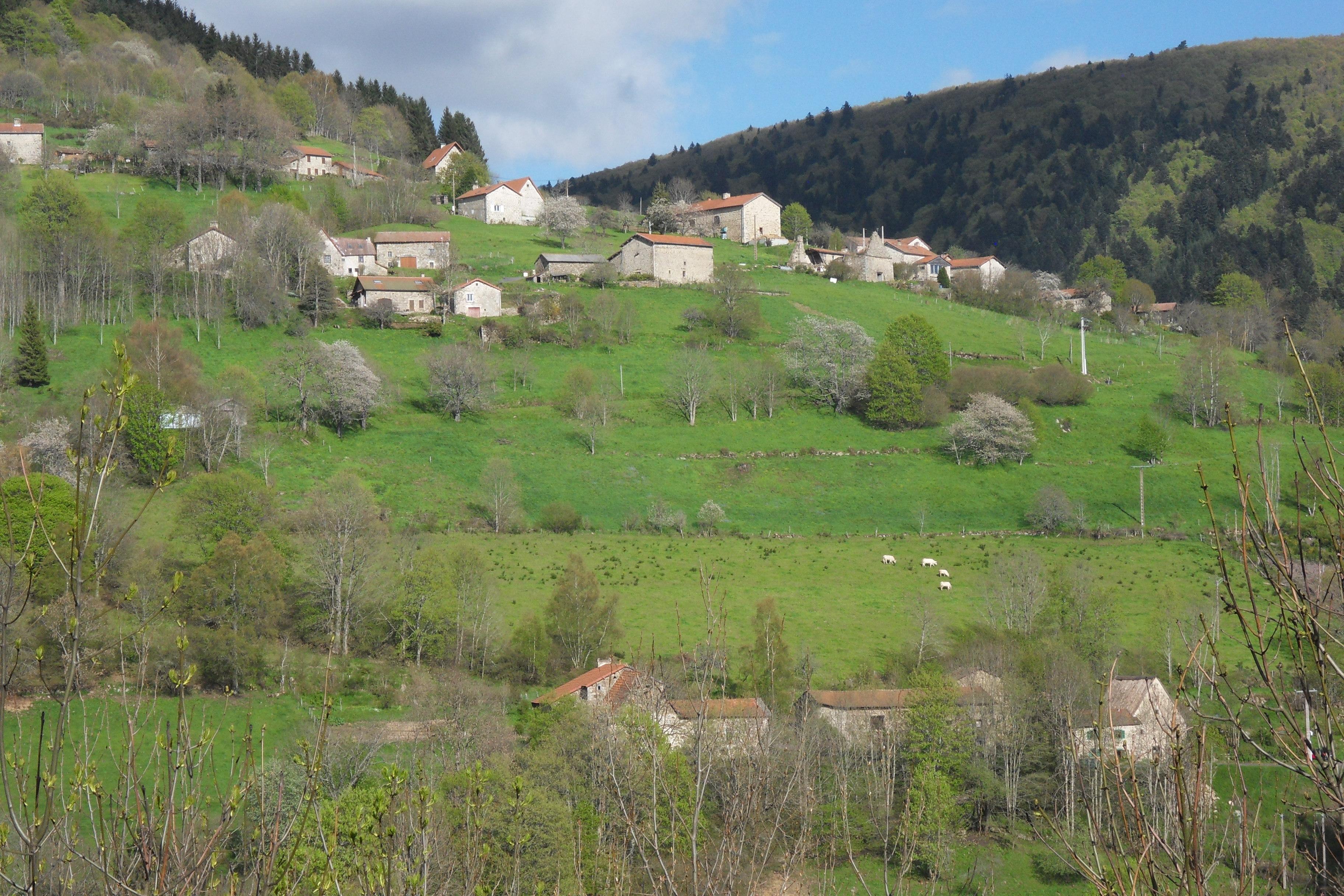 le hameau du Perrier