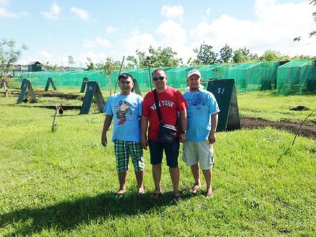 Joey Salangsang visits DWGF