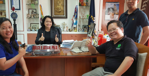 CAMARINES SUR POLYTECHNIC GOING FOR GREEEN CERTIFICATION