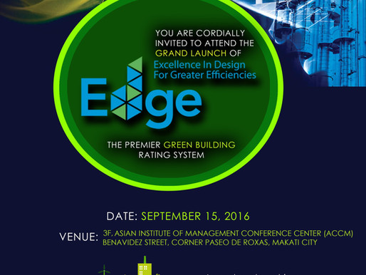 HAPPENING TODAY: GRAND LAUNCH OF EDGE