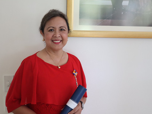 Filipina scientist granted knighthood by the Netherlands