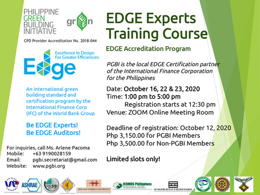 EDGE Experts Training Course