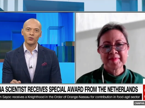 Filipina scientist receives special award from the Netherlands