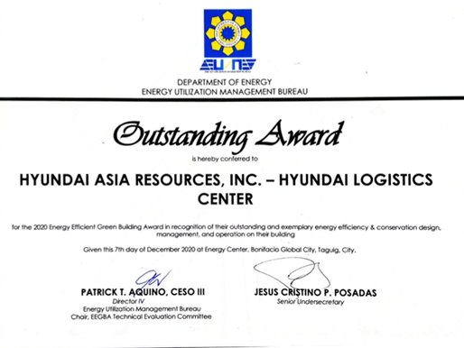 DOE recognises PGBI's GREEEN-certified buildings