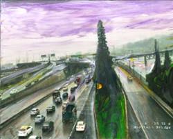 I-5 at Morrison. 5/2/17 5