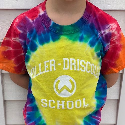 Rainbow Tie Dye T-Shirt **Only X-Small**