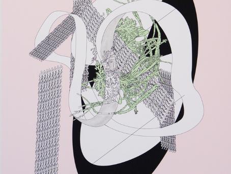 Exposition de Laurie GIRARD   LÀ OÙ IL N'Y A NI DÉBUT NI FIN