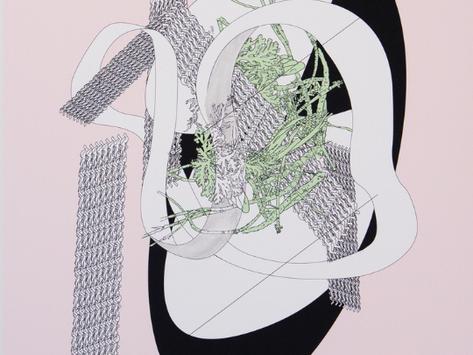 Exposition de Laurie GIRARD | LÀ OÙ IL N'Y A NI DÉBUT NI FIN
