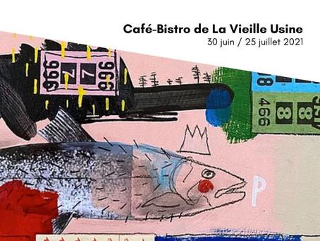 Exposition de Catherine CÔTE   ŒUVRES PICTURALES