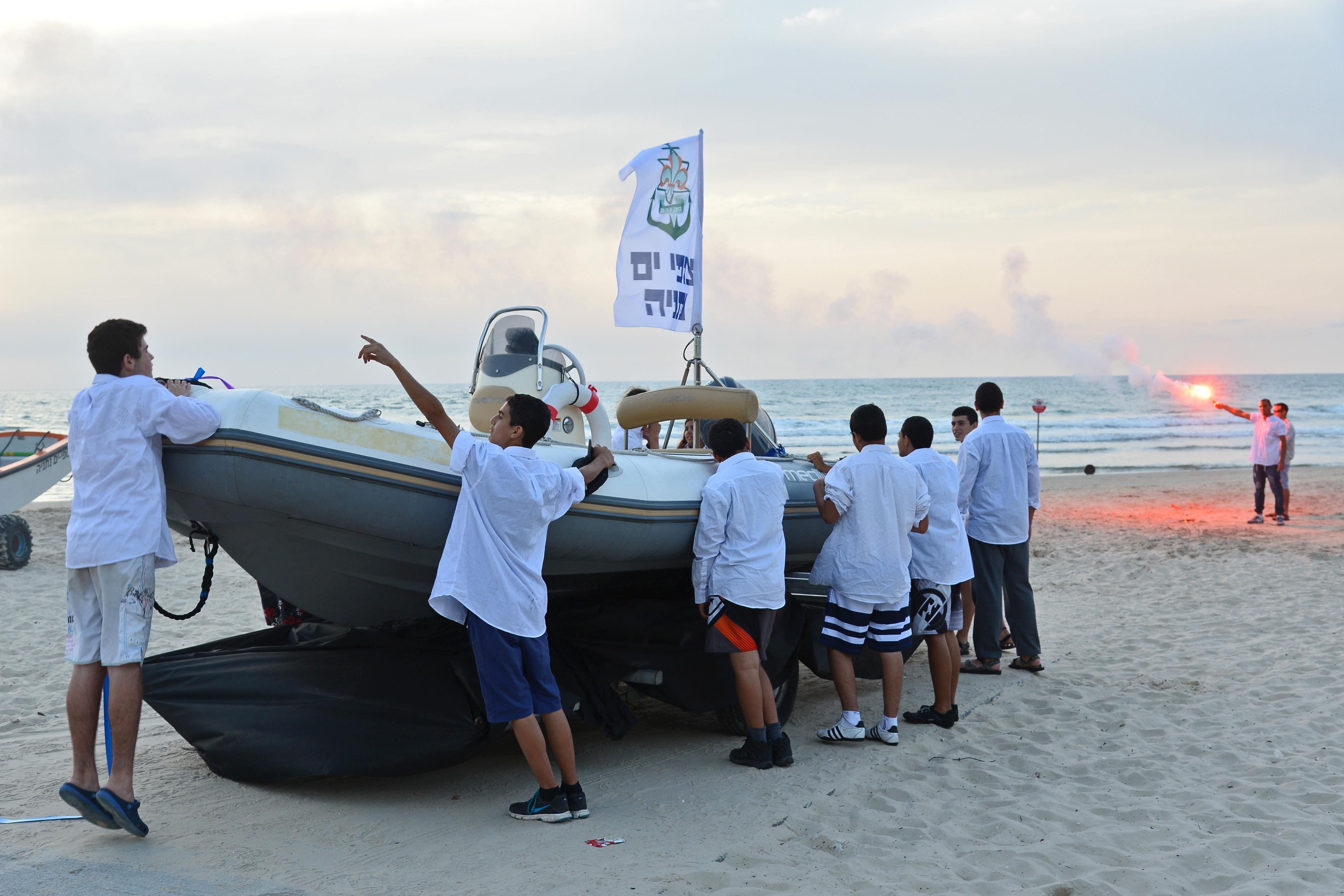 Boat for Netanya Sea Scouts