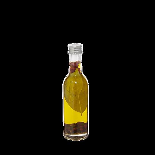 """Huile d'olive aromatisée faite """"maison"""" au laurier - 100ml"""