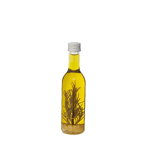 Huile d'olive extra vierge aromatisée romarin - 100ml