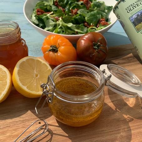 Vinaigrette sucrée / salée au miel de thym