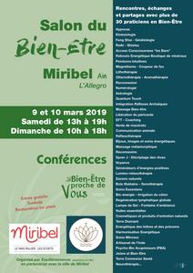 Salon bien-être Miribel 2019