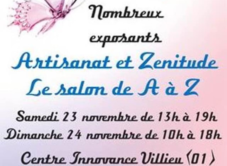 Salon Artisanat et Zénitude de Villieu