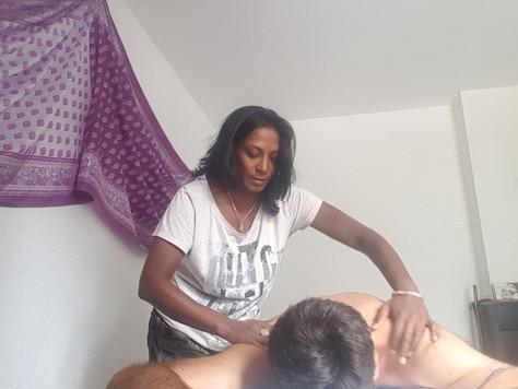Nouveauté : Massage ayurvédique abhyanga !