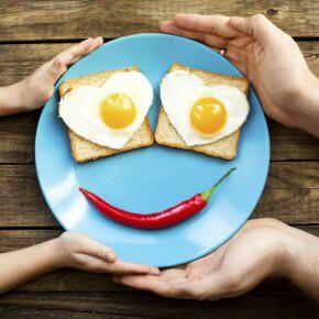 Commençons par un bon petit-déj' les enfants!