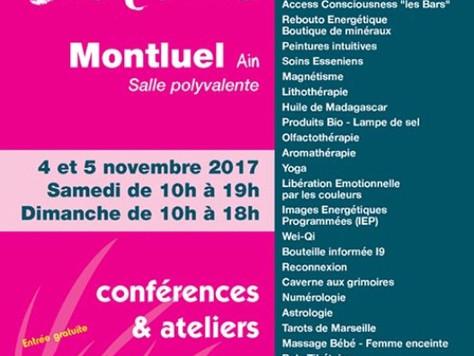 Salon Bien-être 4-5 novembre à Montluel