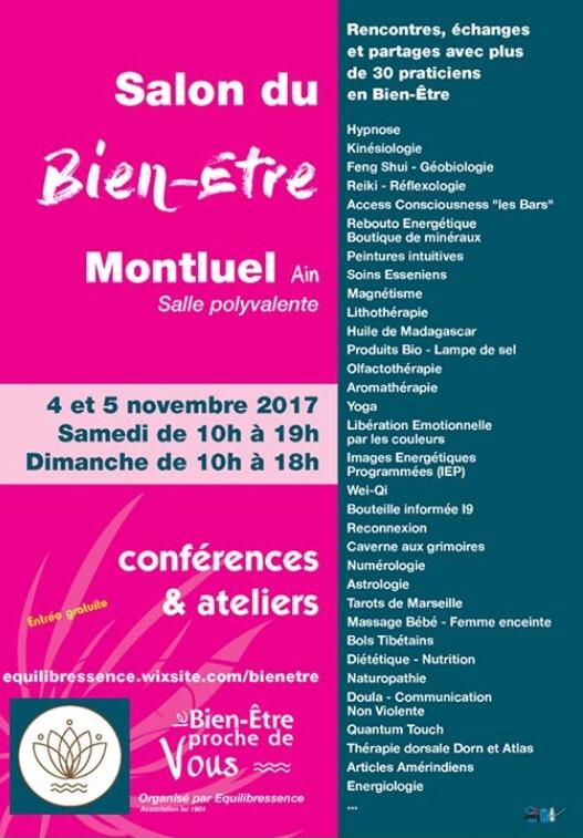 Salon Bien-être Montluel 4-5 Nov