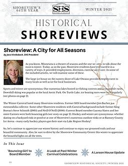 FINAL Draft- SHS Newsletter Winter 2021.