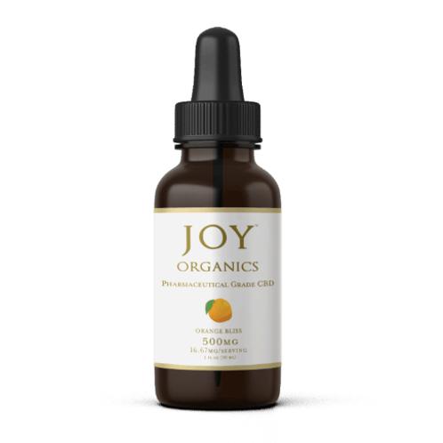 Joy Organics CBD Tincture- Orange- 500 MG