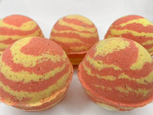 Bath Bomb- Destress - (Yellow Orange) 100 MG