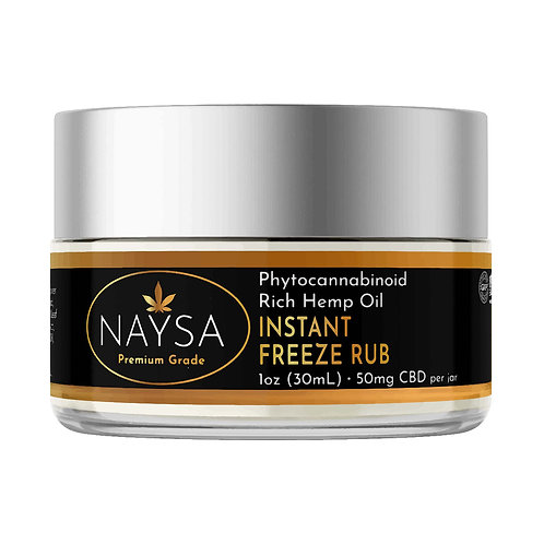 NAYSA Instant Freeze Rub 50mg