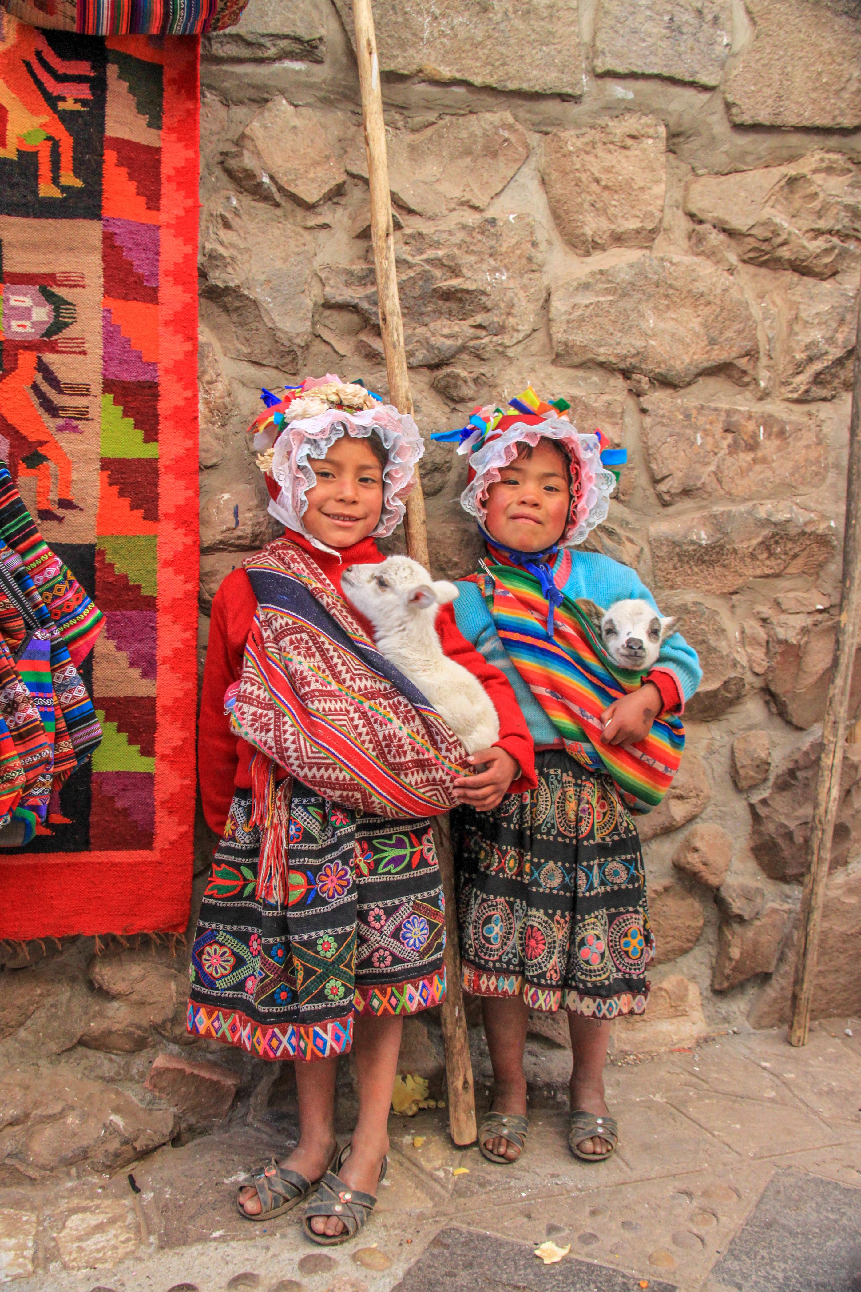 Locals in Cusco