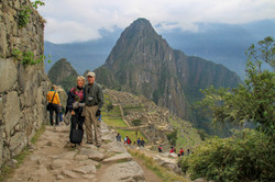 Walking a portion of Inca Trail