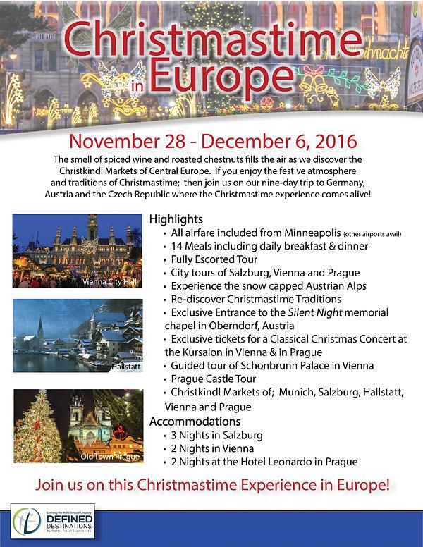 Denny Long, Wcco radio, devine destinations, definedestinations, christmas markets, europe, group tours