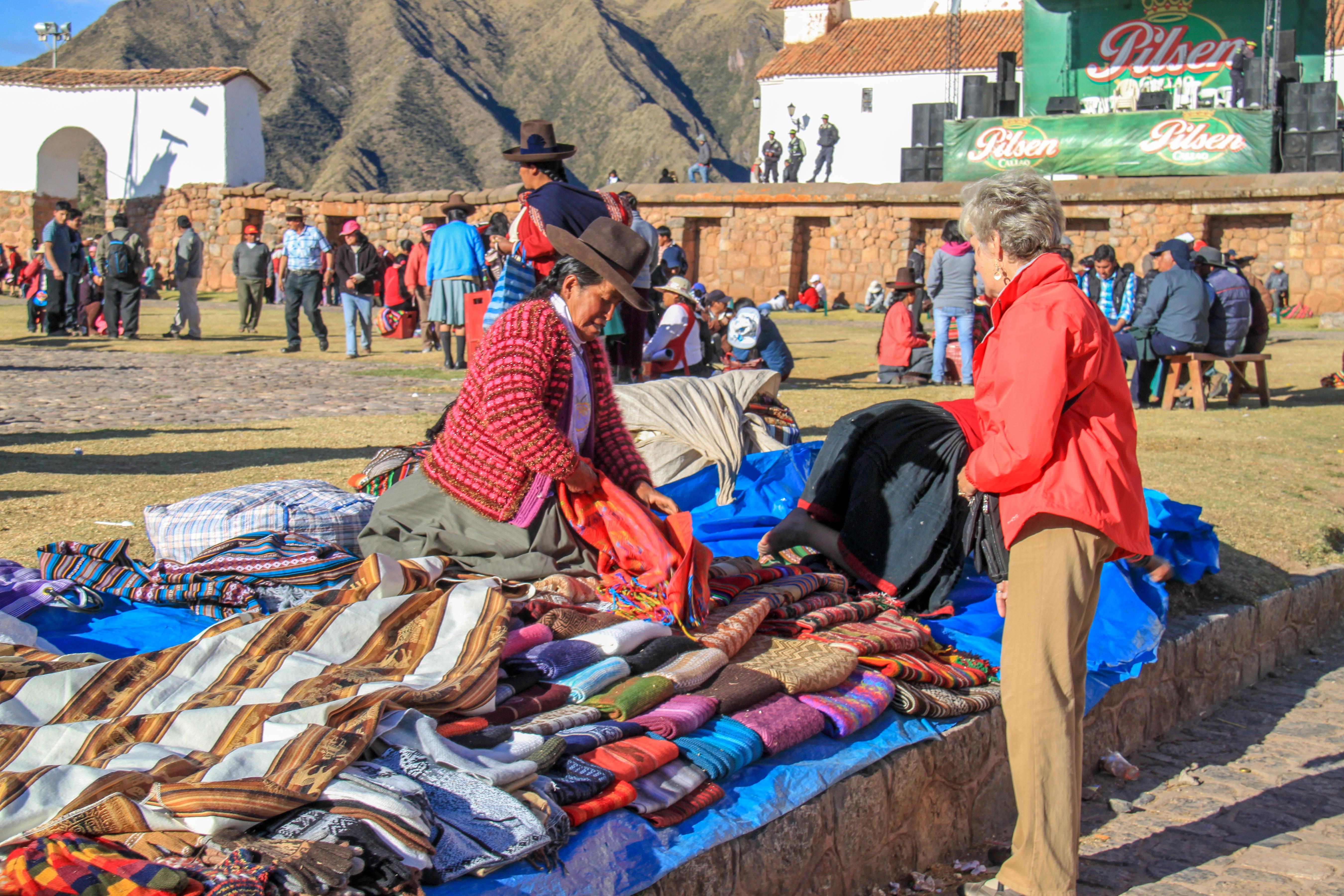 Shopping near Cusco