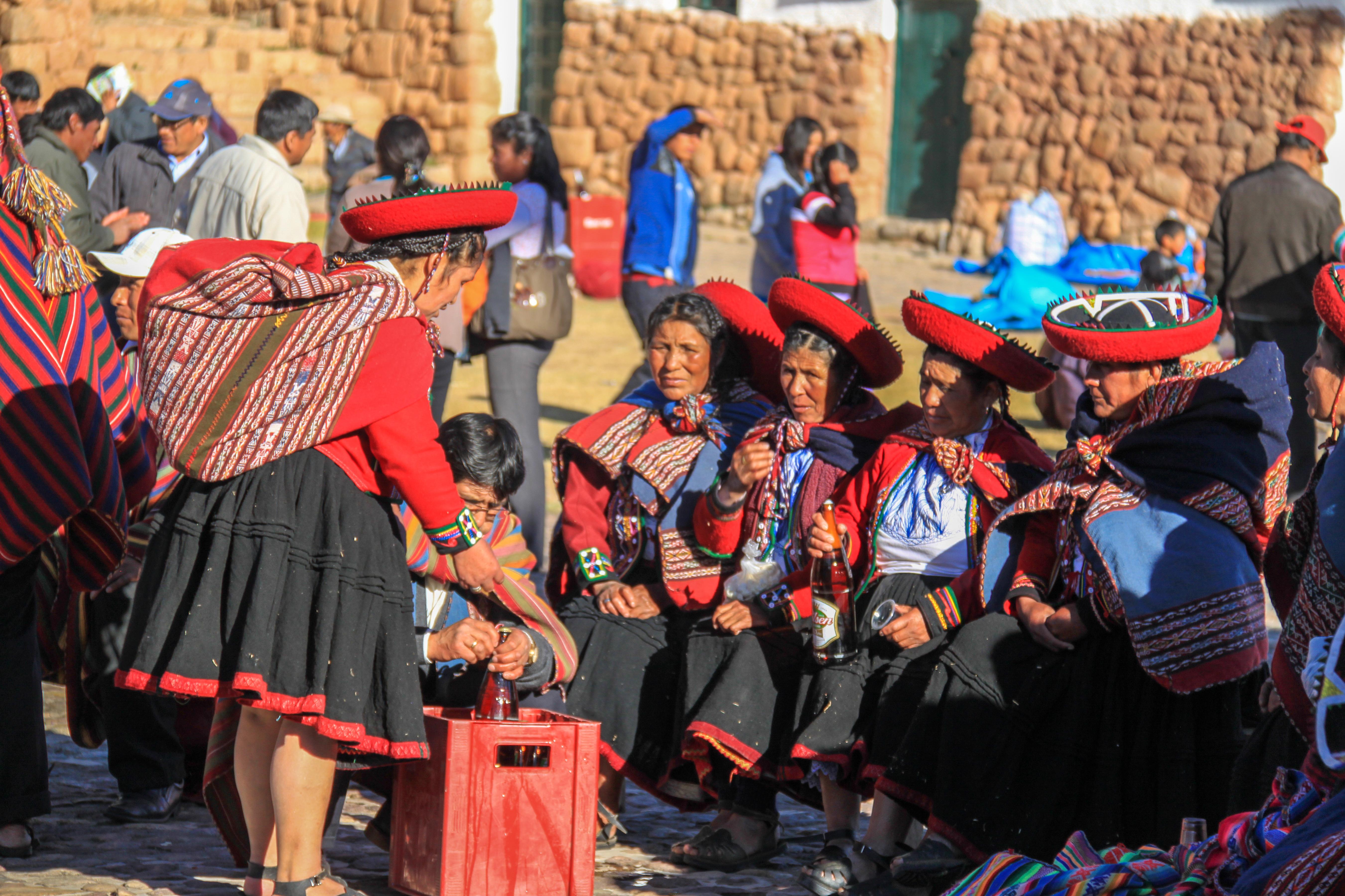 Locals near Cusco