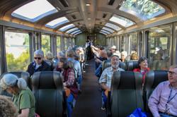 Vista Dome train to Machu Picchu